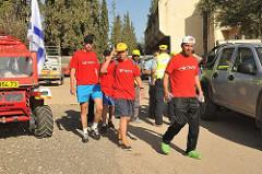 צעדת נכי צה''ל מחוז חיפה והצפון - פסח 2013 בגן השלושה